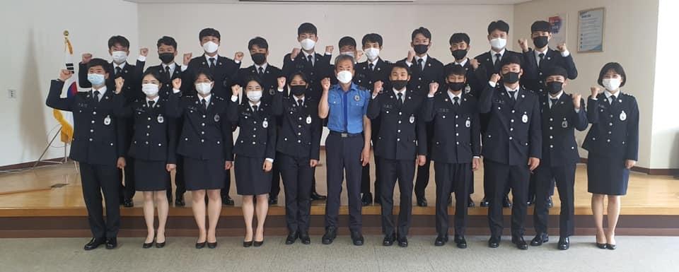 완도해경,신임 경찰관 24명 관서 실습 실시