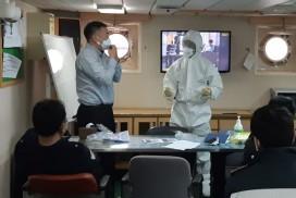 서귀포해경,코로나19감염 예방 현장점검 실시