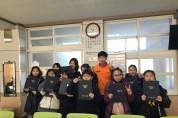 전남 고흥소방서, 어린이 불조심 공모전 입상자 상장 전수
