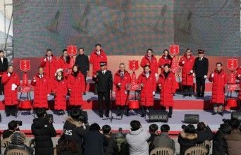[포토] 2019 구세군 자선냄비 시종식' 성황리 개최