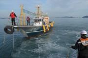 완도 해상 9.77톤 기관고장 표류 선박 해경이 구조