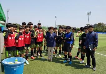 목포 애향중, '목포시 I-League' 우승에 이어 '목포시장기, 교육장배 축구대회' 준우승